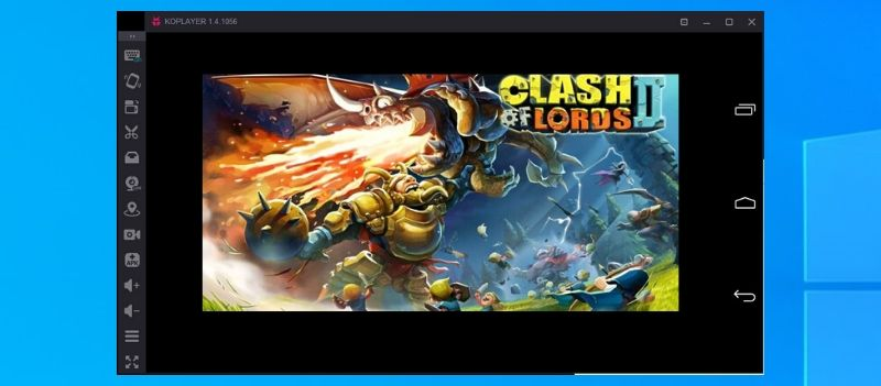 Clash of Lords 2 Guide Castle Using KOPlayer