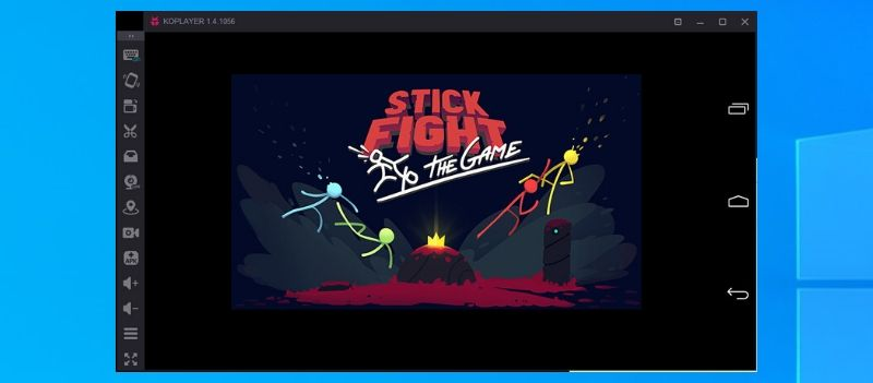Stick Fight The Game on PC using KOplayer