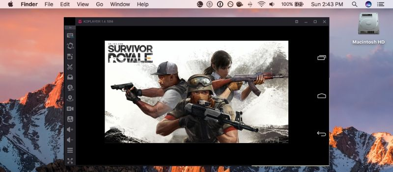 Survivor Royale on Mac with Koplayer