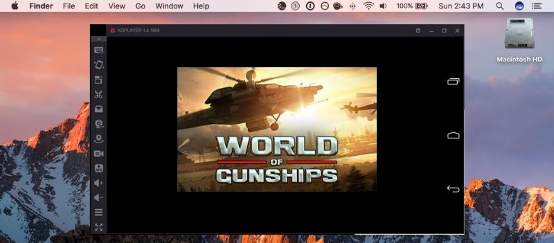 World of Gunships on your Mac with KOplayer